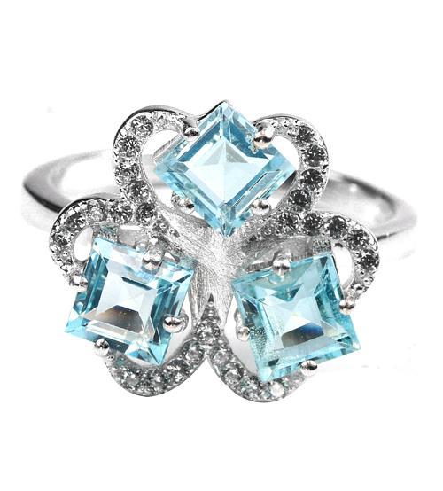 кольцо с топазом цена