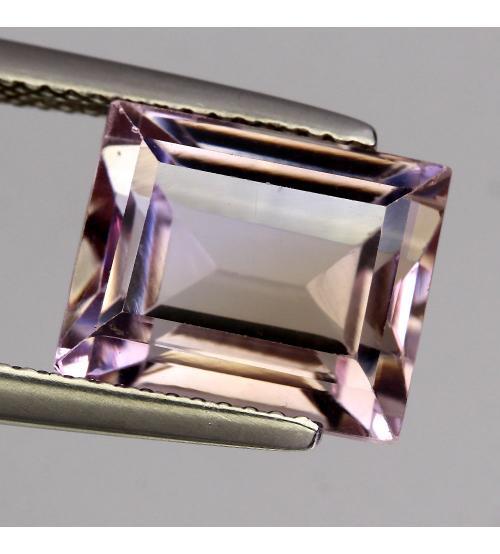 6.23Ct Драгоценный камень аметрин 10.5*9мм багет