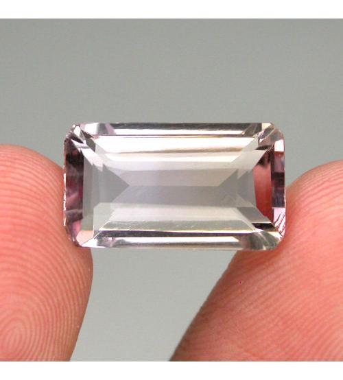 6.68Ct Драгоценный камень аметрин 15*9мм октагон