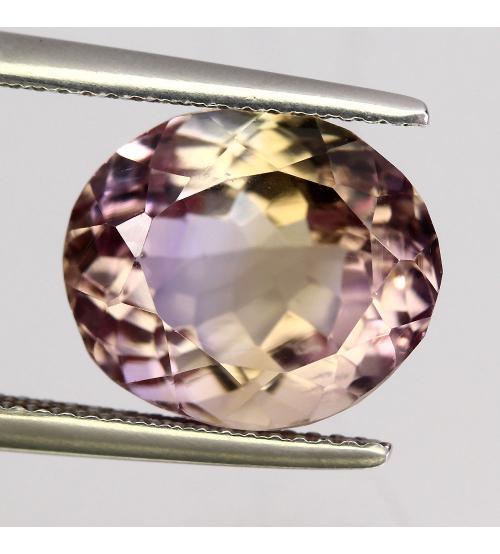8.27Ct Драгоценный камень аметрин 13*11мм овал