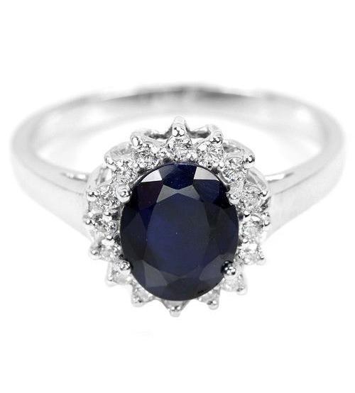 купить кольцо с сапфиром Украина