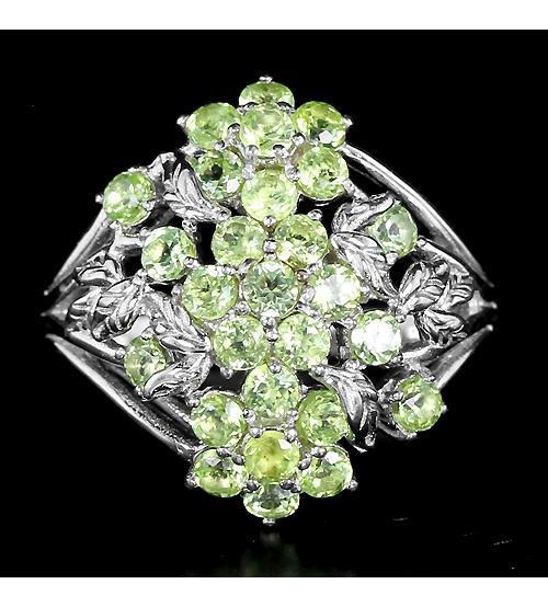 купить кольцо с хризолитом