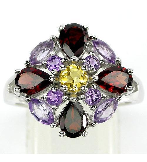 купить кольцо с камнями