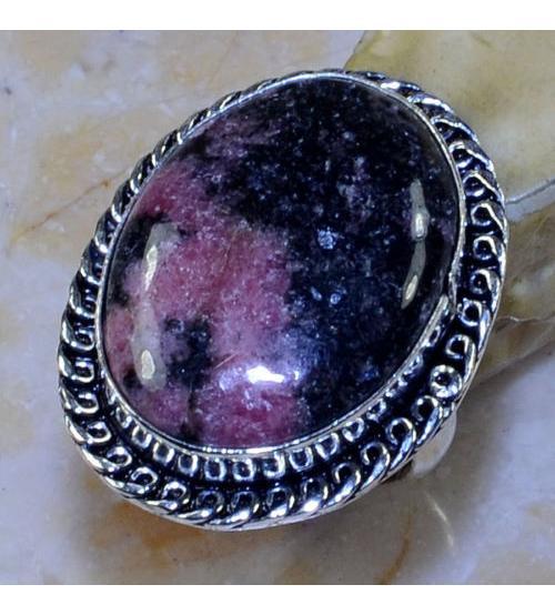 кольцо с родонитом купить