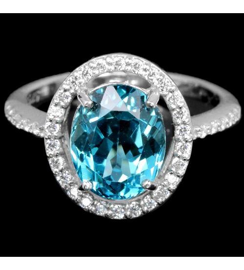 купить кольцо с лондон топазом