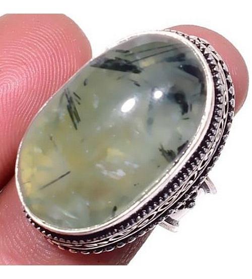 кольцо с пренитом цена фото купить