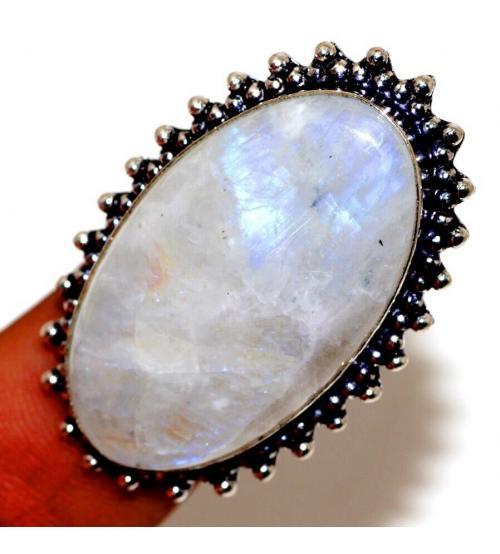 кольцо с лунным камнем цена фото купить