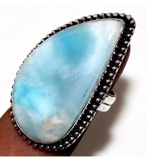 кольцо с камнем ларимар купить в Украине