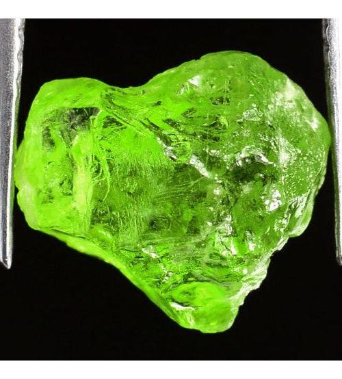 4.8Ct Необработанный хризолит (перидот) 10*10мм