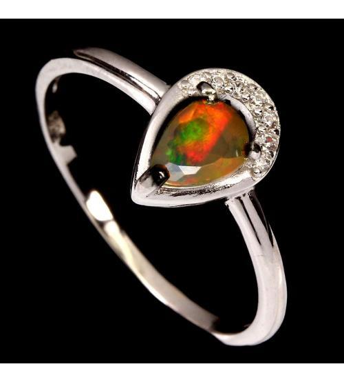 кольцо опал цена