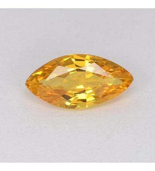 Природный желтый сапфир 6×3мм