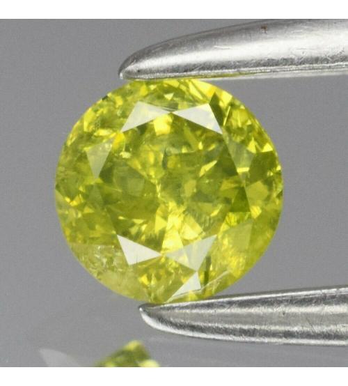 желтый бриллиант 3.3мм круг купить в Украине