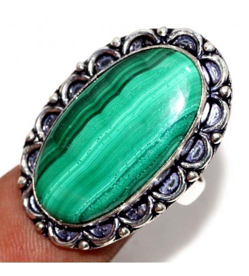 кольцо с малахитом цена