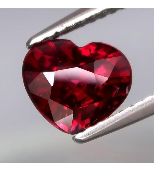 натуральный родолит гранат сердце цена