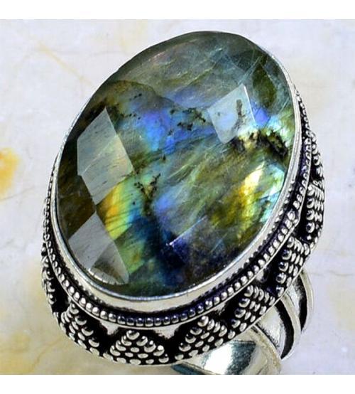 кольцо с лабрадоритом купить Украина
