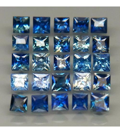 синий сапфир квадрат цена