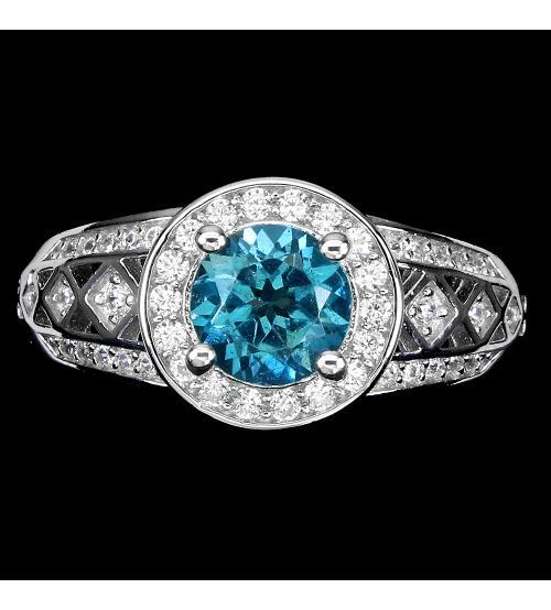 кольцо с лондон топазом купить цена украина