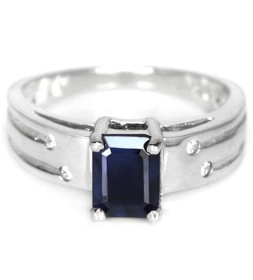 кольцо с сапфиром цена