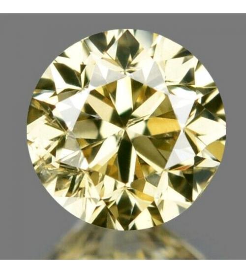 цветной серо-желтый бриллиант 3.6мм цена