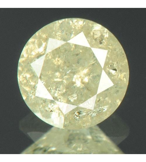 светло-желтый бриллиант