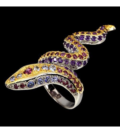 кольцо с натуральными камнями цена купить