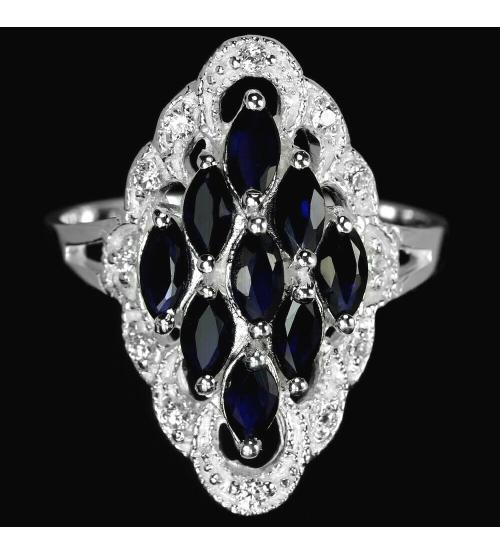 кольцо с сапфирами цена