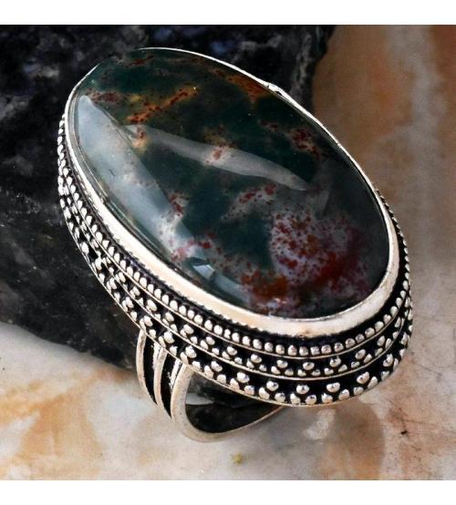кольцо с гелиотропом