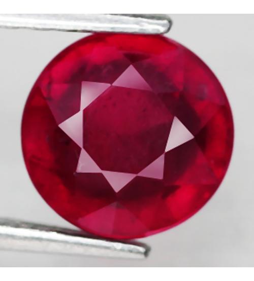рубин голубиная кровь 7мм