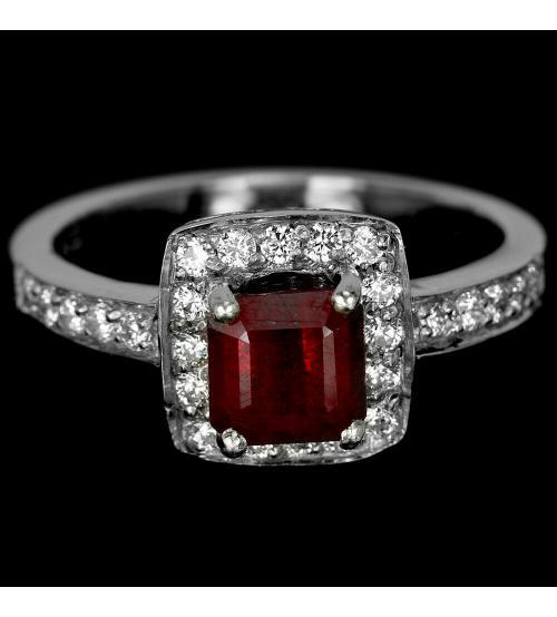 кольцо с рубином цена