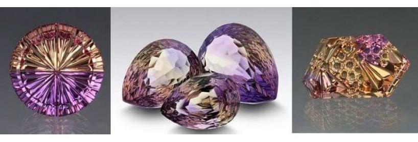 Аметрин - характеристика, магические свойства, происхождение камня, фото.