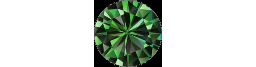 Камни зелёного цвета