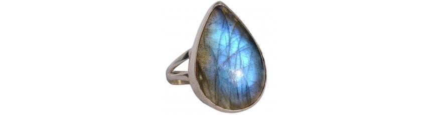 Кольца с камнями - драгоценные камни в серебряных кольцах. Купить драгоценные кольца в Украине.