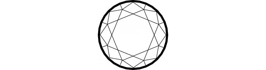 гарантированно натуральные рубины круглой формы
